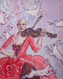 Bunny and Violin