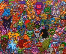 Monsterface-Mashpostcard