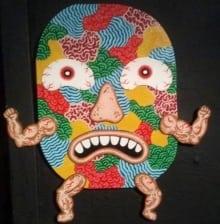 Buff rainbow head