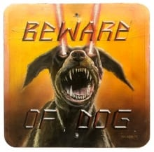 ray-young-chu-beware-of-dog-24x24x-25in-oil-acrylic-on-metal-2016-july-07