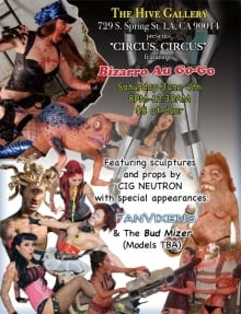 Hive Circus Flyer