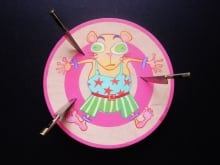 Hamster Knife Throwing #1