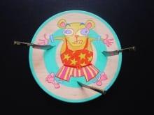 Hamster Knife Throwing #2