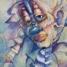Blu Clown