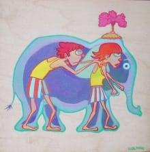 Pantomime Elephant
