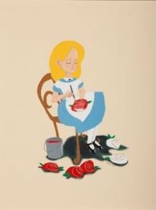 """""""Alice Painting the Roses Red"""""""