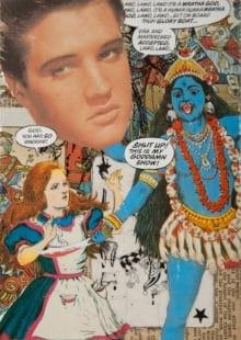 """Elvis in Hinduland"""