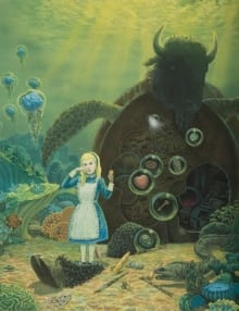 Alice and Mack the Turtle