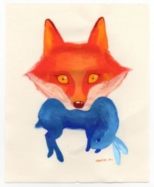 Red Fox Blue Rabbit