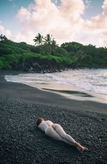 Sam Hernandez-Jess Black Sand Beach