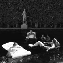 Karen Numme_Friends in Pool 16x16.jpeg