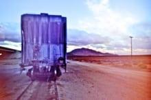Blue Boxcar - Mojave, CA - 2010