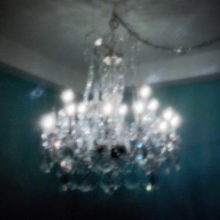 Chandelier on La Cienega - West Hollywood, CA - 2010