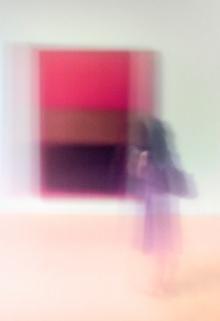 Contemplating Rothko - Los Angeles, California - 2011