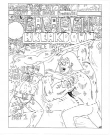 Galactic Breakdown #5 Part 1 Cover