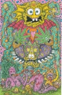 Psycho-Delic Spongebob