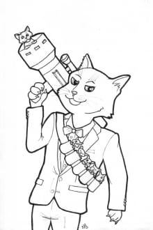 Cat Bazooka