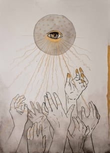 3 Worshiping Hands_New Gaia Series