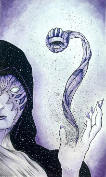 CHRIS-WATERMAN-NECROMANCER-MAGE-2-11-X-17-WATERCOLOR-PEN-AND-INK-ON-BRISTOL-150.00