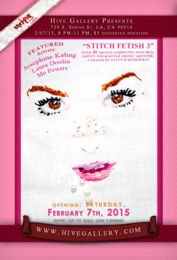 February 2015- Stitch Fetish 3 postcard