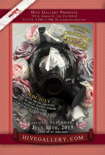 July 2015- JEDI JULY!!! postcard