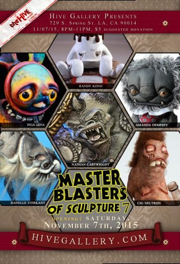 Nov.2015- Master Blaster of Sculpture 7 postcard