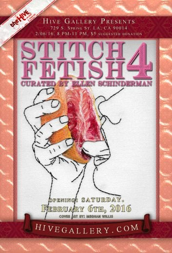 February 2016- Stitch Fetish 4 postcard