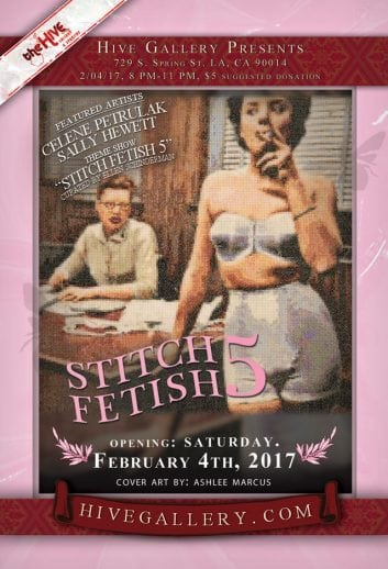 February 2017- Stitch Fetish 5! postcard