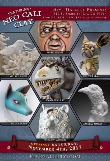 November 2017- Master Blasters of Sculpture 9 postcard