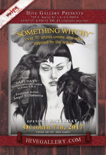 "October 2017- ""Something Witchy"" + ""Last Days"" postcard"