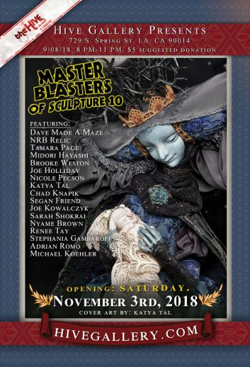 November 2018- Master Blasters of Sculpture 10! postcard