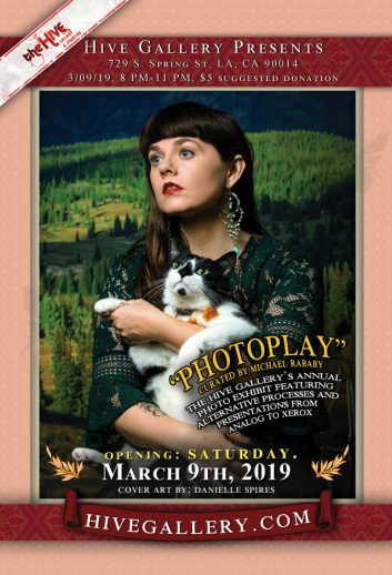 "March 2019- Hive Photo Show: ""Photoplay"" postcard"