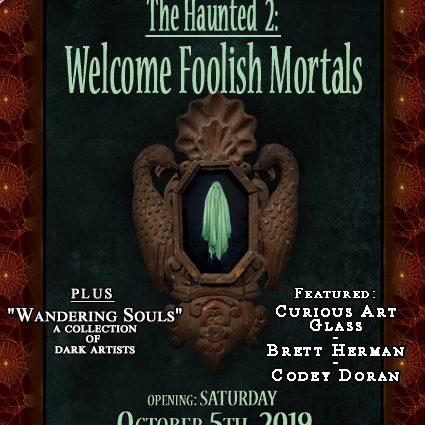 "October 2019- ""Haunted 2"" & ""Wandering Souls"" postcard"