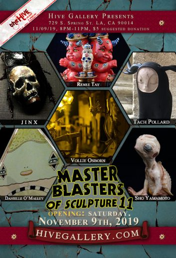 November 2019- Master Blasters of Sculpture 11! postcard