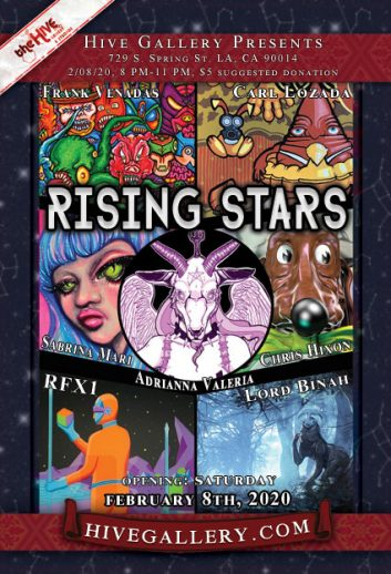 "February 2020- ""Harvest""+Fresh Honey+Rising Stars+ Whimsical Fury postcard"