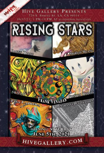 """Rising Stars of LA 2021 pt.2"" and more! postcard"